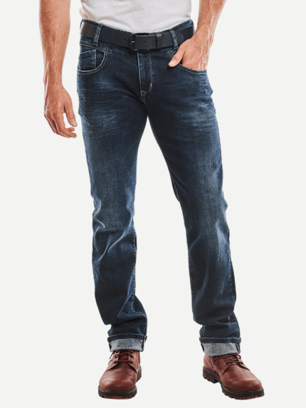 MAC JEANS Herren Hose Ben Pipe Recycled Denim light