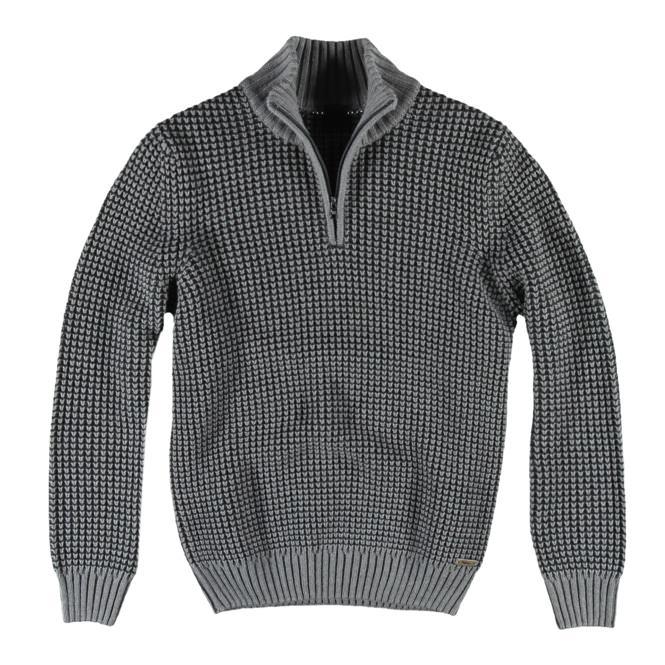 herren troyer pullover in anthrazit gro e gr en engbers. Black Bedroom Furniture Sets. Home Design Ideas