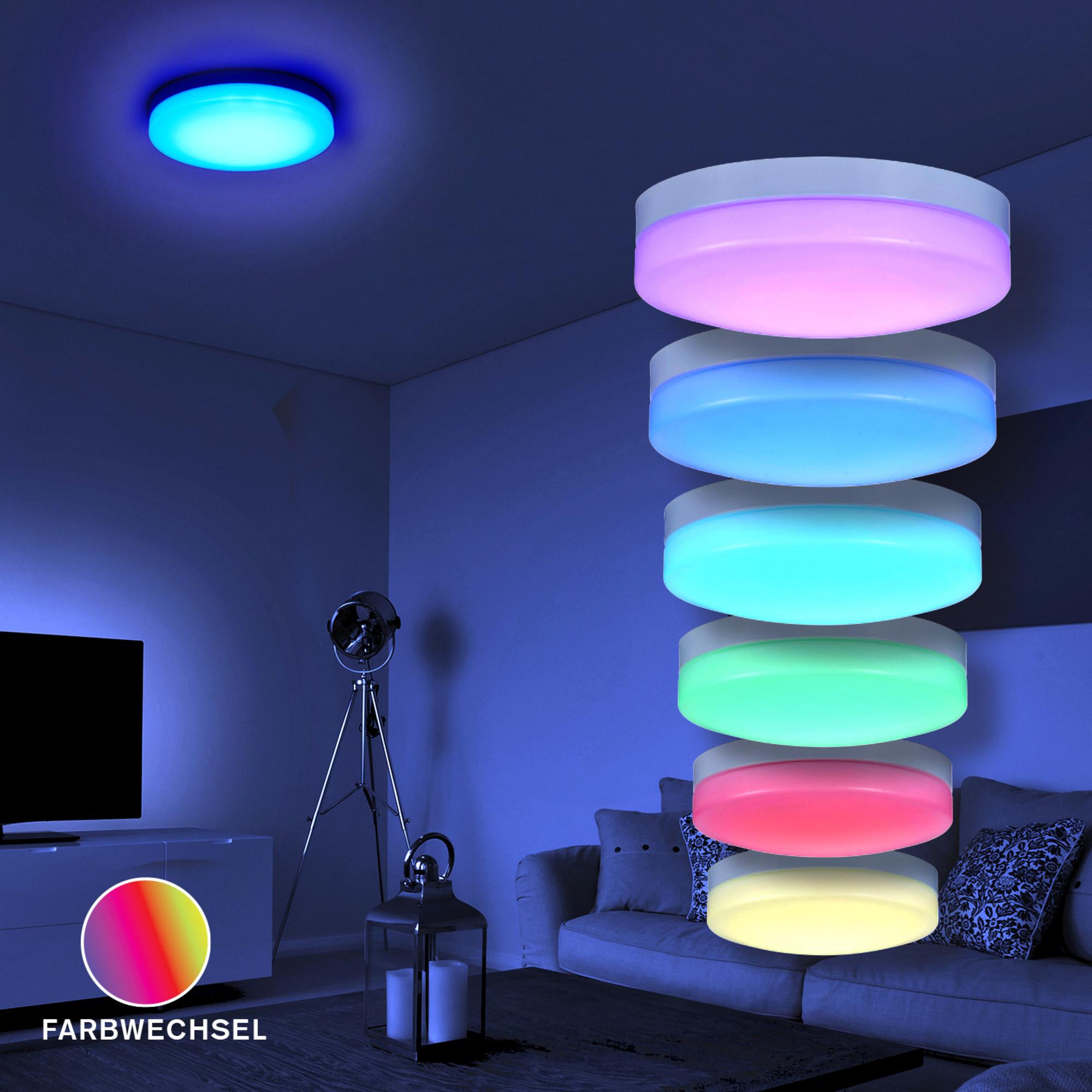 deckenleuchte farbwechsel preisvergleiche erfahrungsberichte und kauf bei nextag. Black Bedroom Furniture Sets. Home Design Ideas