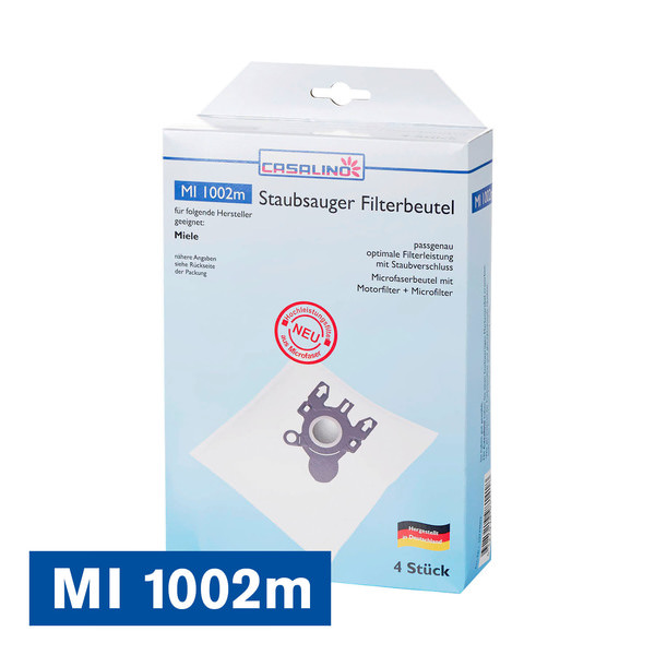 Casalino Staubsauger Filterbeutel MI 1002m