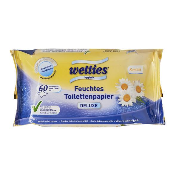 Wetties Feuchtes Toilettenpapier