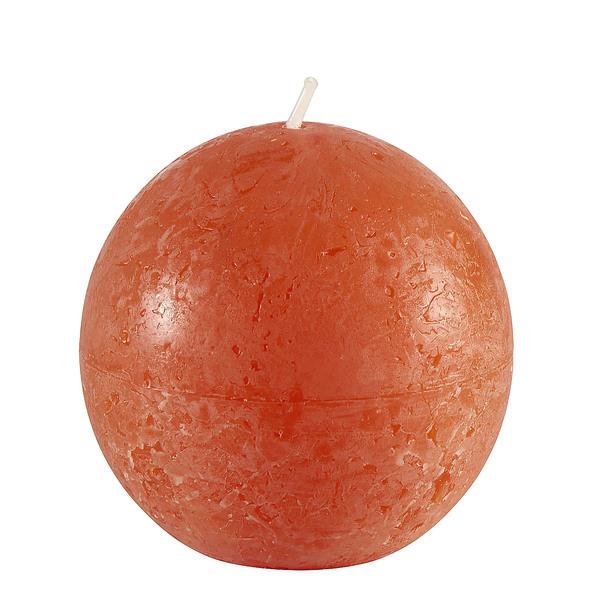 Bolsius Rustik-Kugelkerze Orange