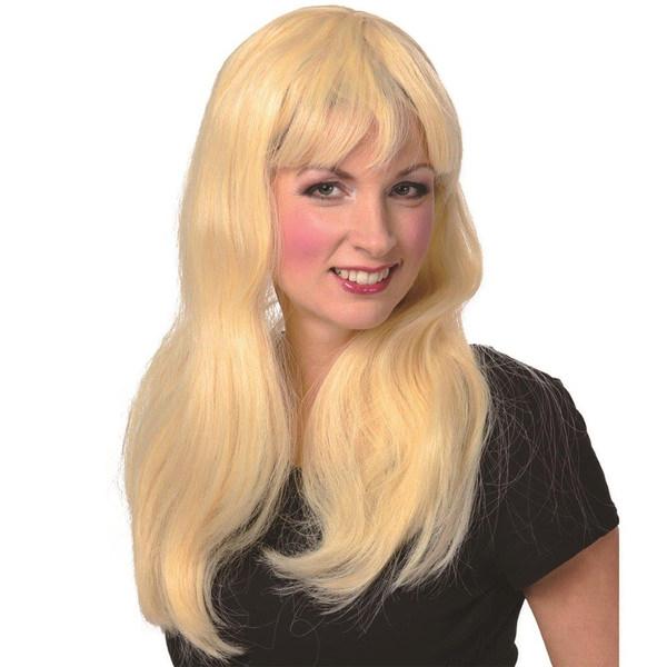 Langhaar-Perücke in Blond