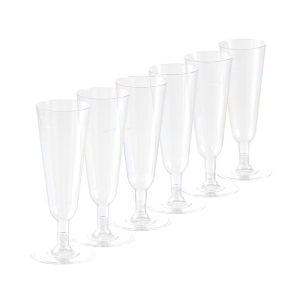 Casalino Einweg-Champagnergläser