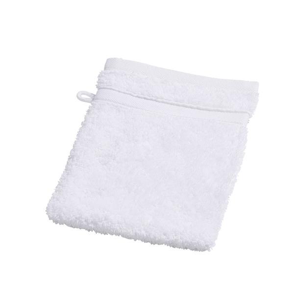 Provida Waschhandschuh in Weiß