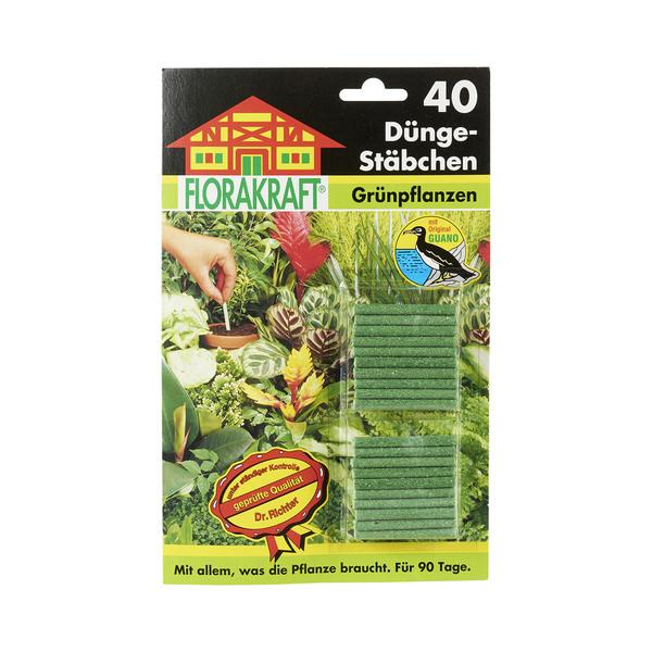Düngestäbchen für Grünpflanzen