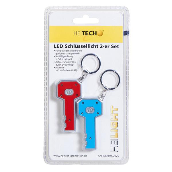 Heitech LED-Schlüssellichter