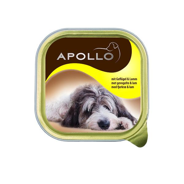 Geflügel- und Lamm-Pastete für Hunde