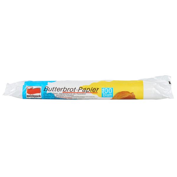 Quickpack Butterbrotpapier