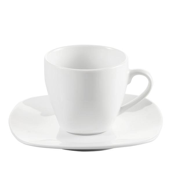 Provida Porzellan-Tasse in Weiß
