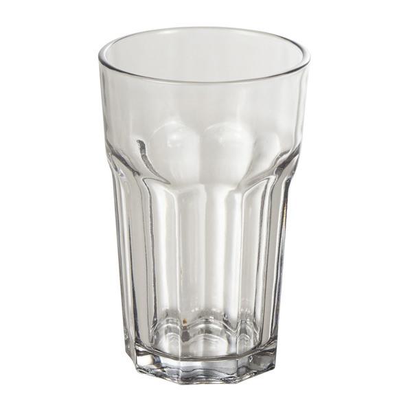 Wasserglas in Grau