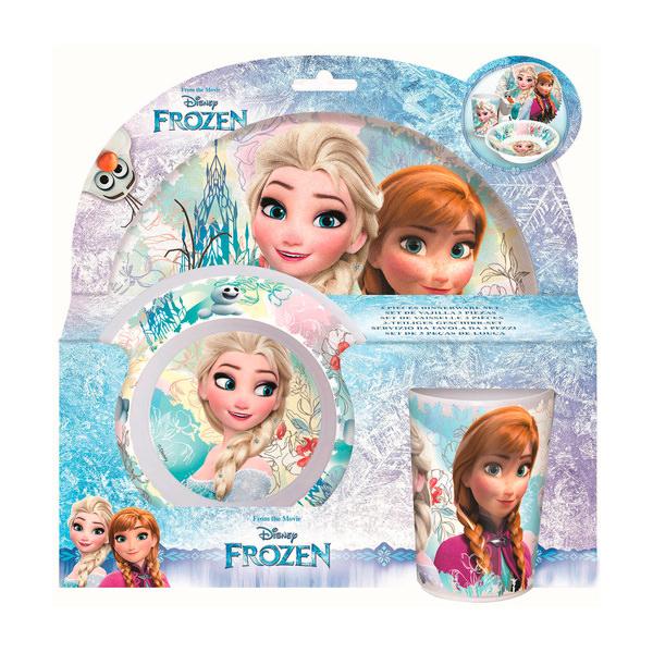 """Frozen Geschirr-Set für Kinder """"Frozen"""""""