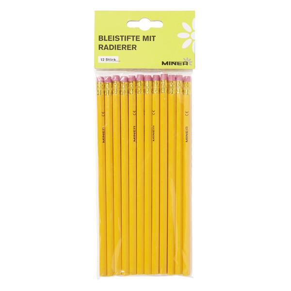 Minea Bleistifte mit Radierer