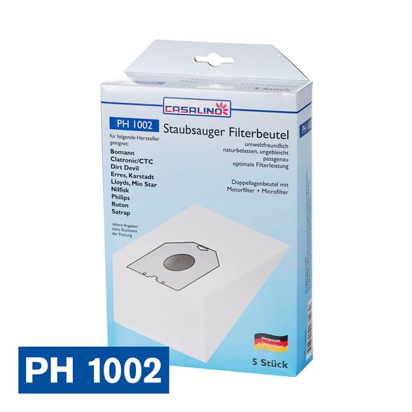 Casalino Staubsauger Filterbeutel PH 1002