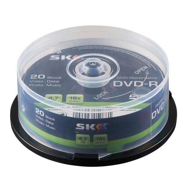 SK DVD-Rohlinge