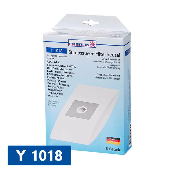 Casalino Staubsauger Filterbeutel Y 1018