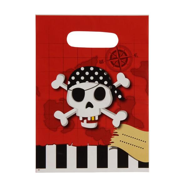 "Party-Tüten ""Pirates Treasure Map"""