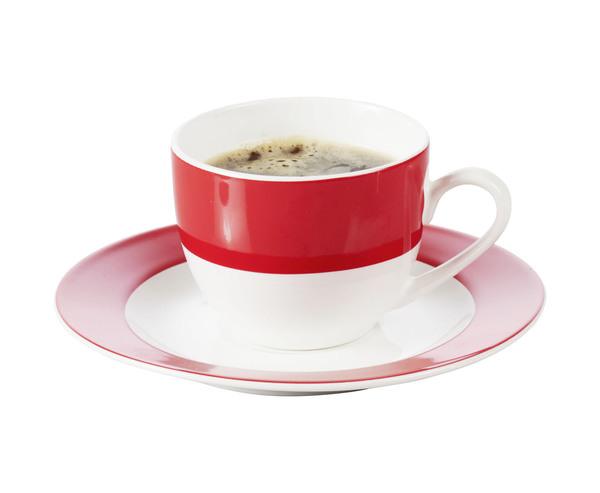 "Espresso-Tasse ""Trend"" in Rot"
