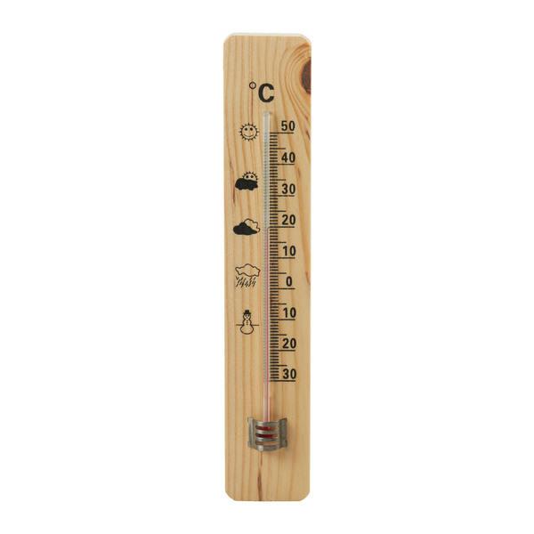 Provida Holz-Thermometer