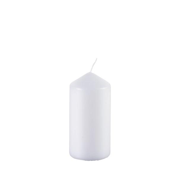 Gala Stumpenkerze in Weiß