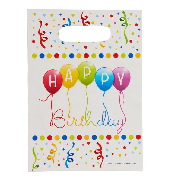 "Party-Tüten ""Happy Birthday"""