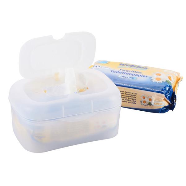 Feuchtes Toilettenpapier mit Kamille und Box