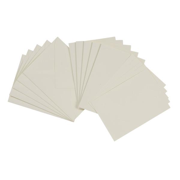 Doppelkarten in Weiß