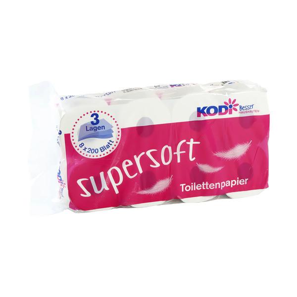 KODi Toilettenpapier 3-lagig