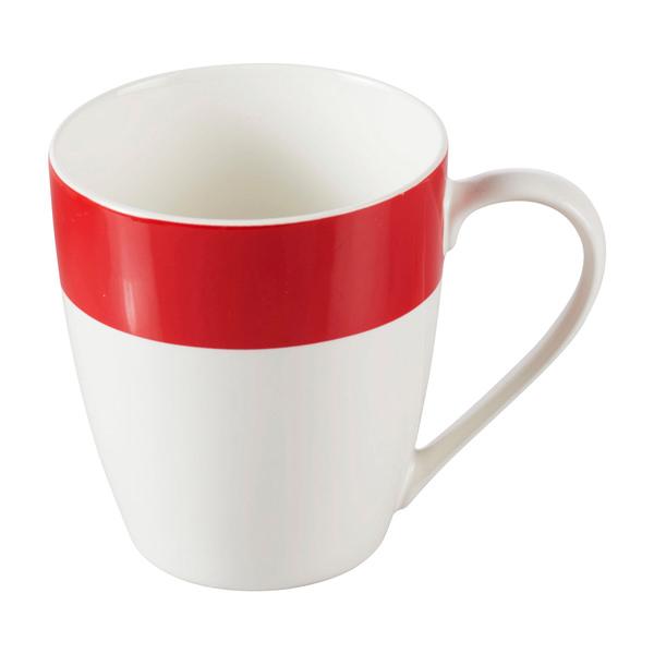 "Kaffeebecher ""Trend"" in Rot"