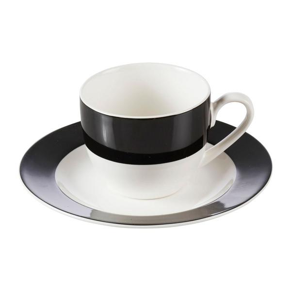 """Espresso-Tasse """"Trend"""" in Schwarz"""