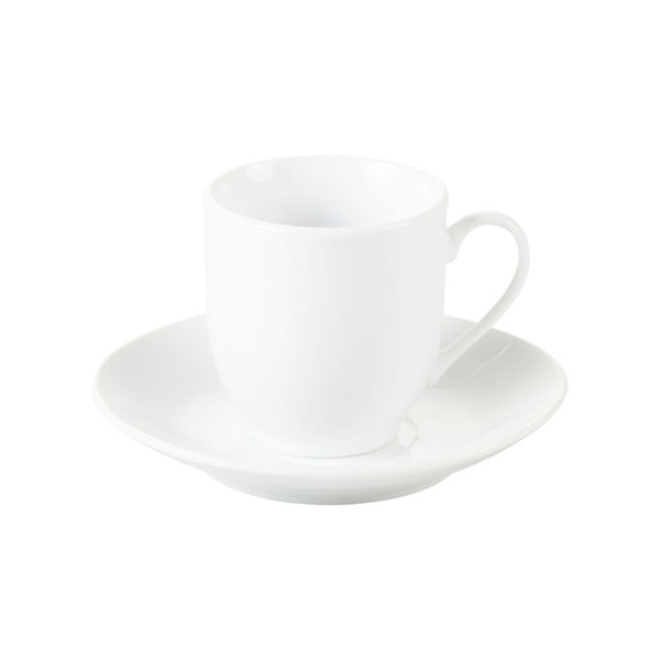 """Espresso-Tasse mit Untertasse """"Blanca"""""""