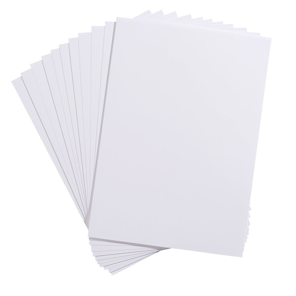 Schreibpapier mit Leinenprägung