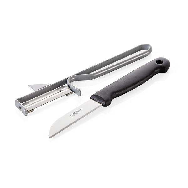 Casalino Sparschäler & Küchenmesser