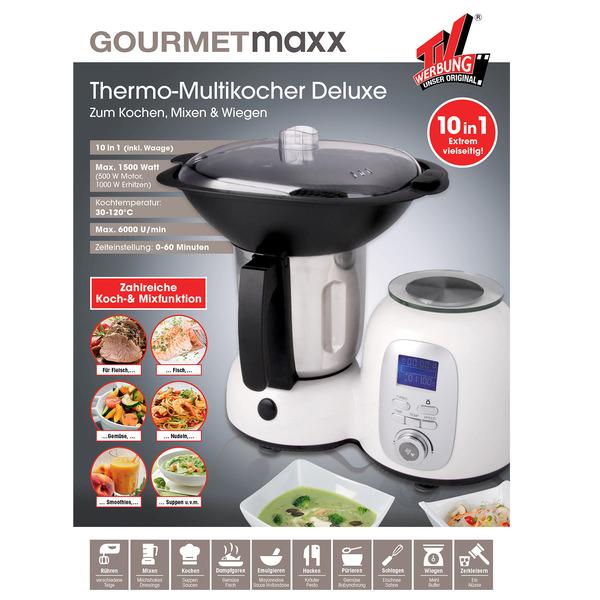 TV Werbung - Unser Original, gourmetmaxx, Thermo-Multikocher Deluxe 10in1
