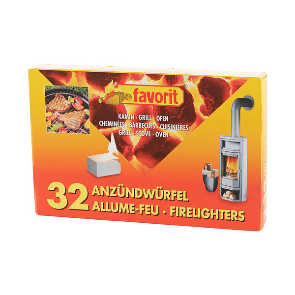 Favorit Favorit Anzündwürfel
