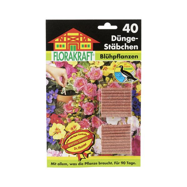 Düngestäbchen für Blühpflanzen