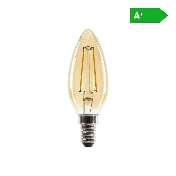 KODi Filament-LED-Leuchtmittel - Kerzenform