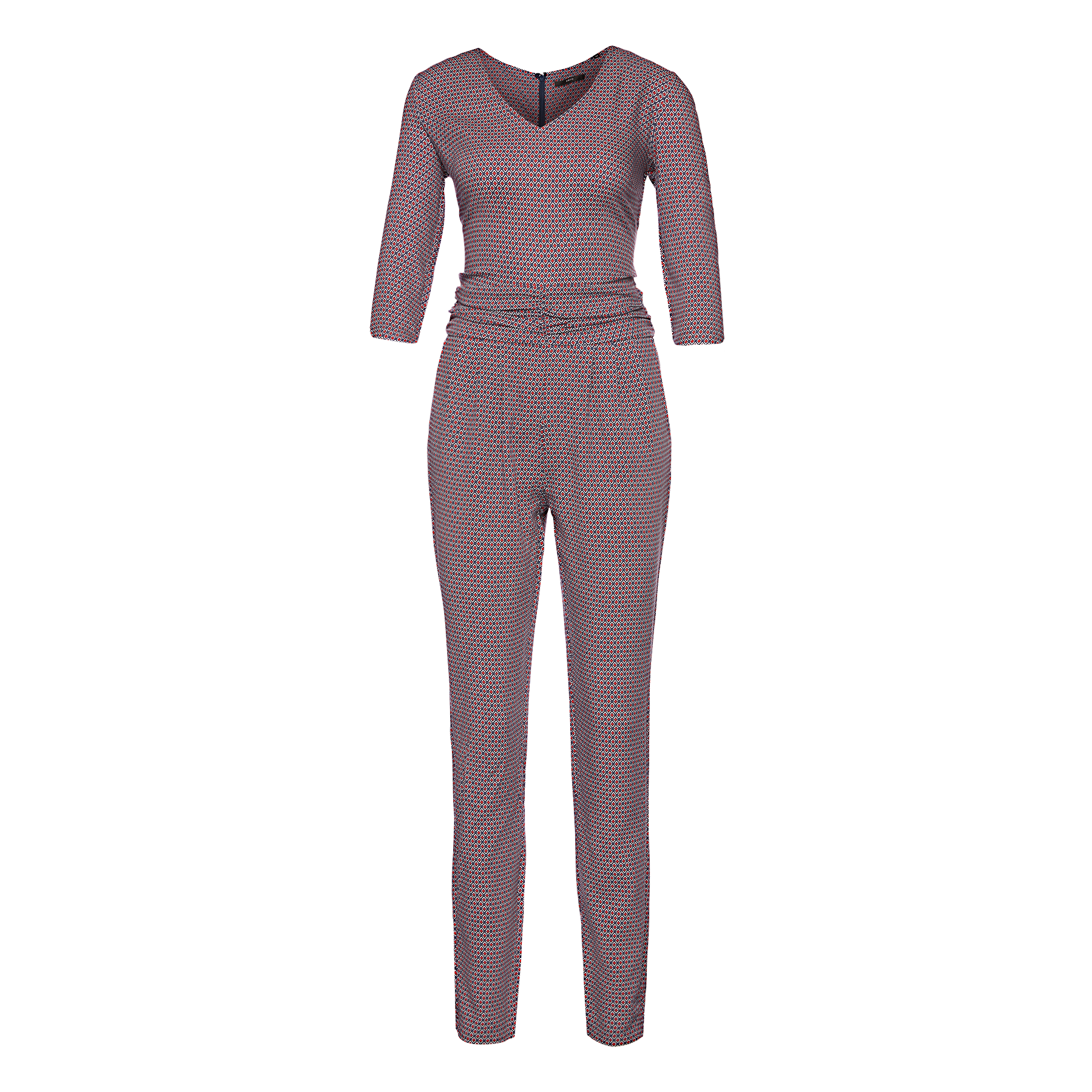 Jumpsuit in Retro-Musterung blueprint