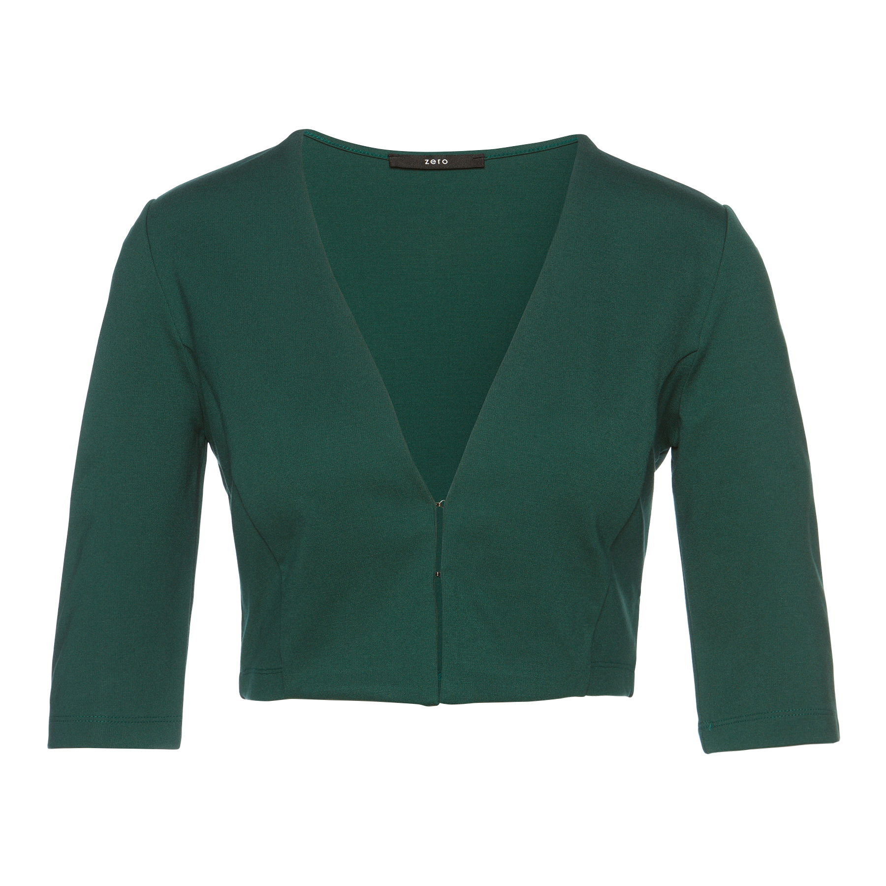 Bolero in Jersey-Qualität jungle green