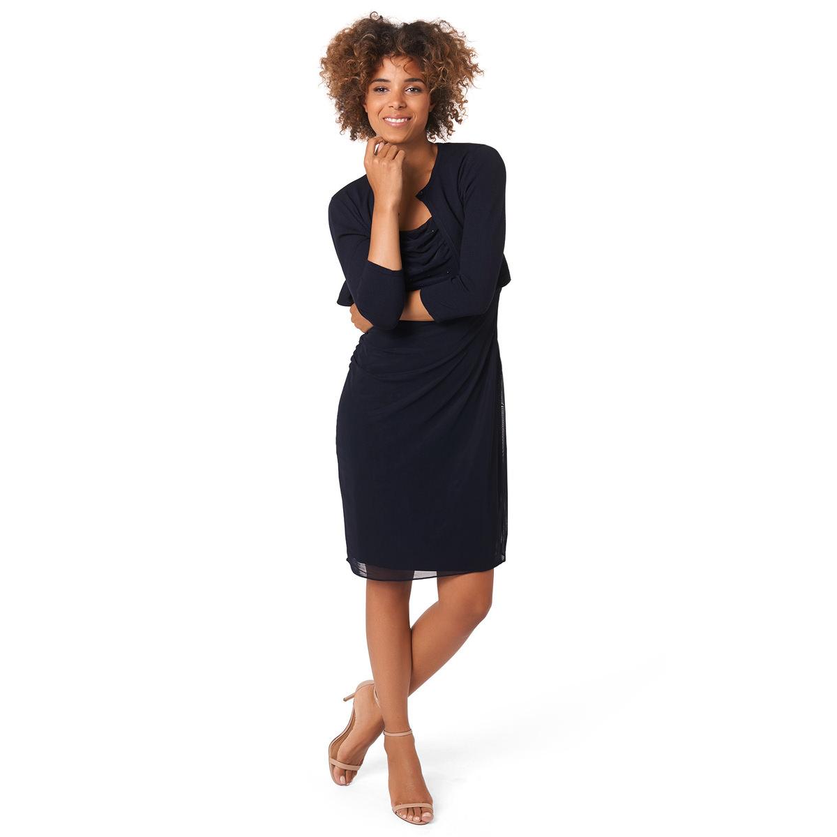 Kleid mit funkelnden Pailletten in blue black