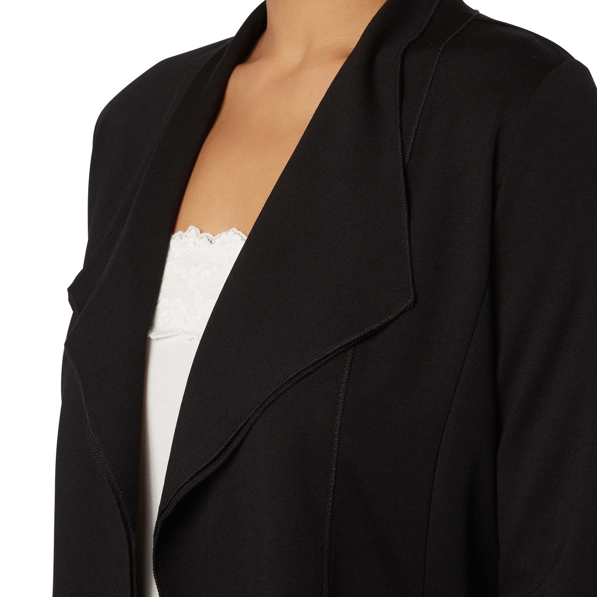 Cardigan Cara mit Schalkragen in black