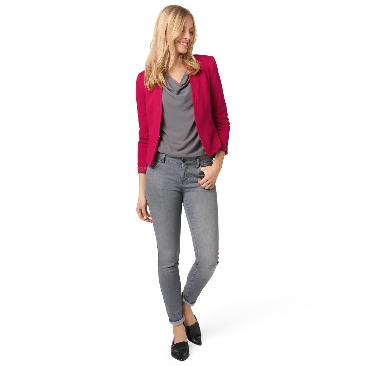 Blazer Beke in kurzer, taillierter Passform in pink
