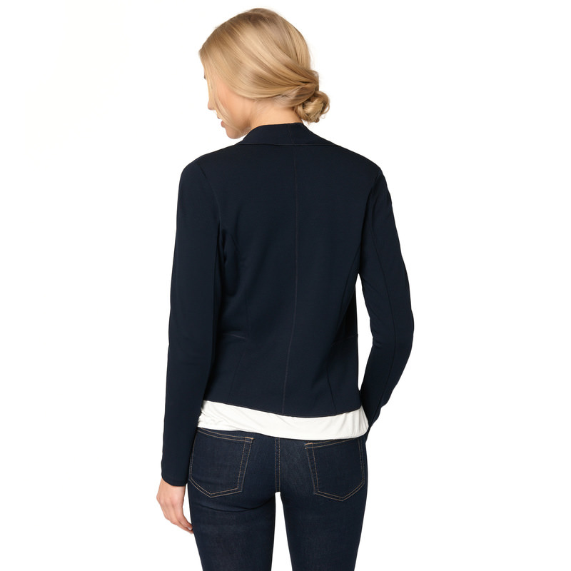 Cardigan Cara mit Schalkragen in blue black