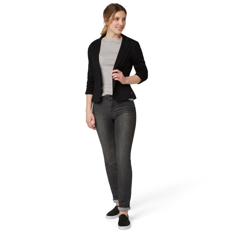 Jersey Blazer Bella in black