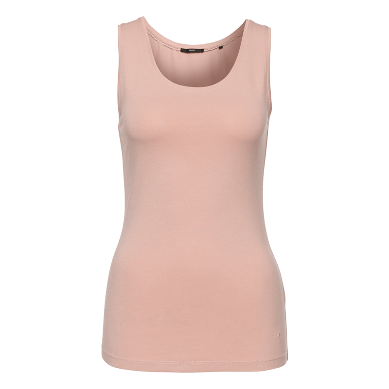 Top Tara im unifarbenen Design in rose parfait