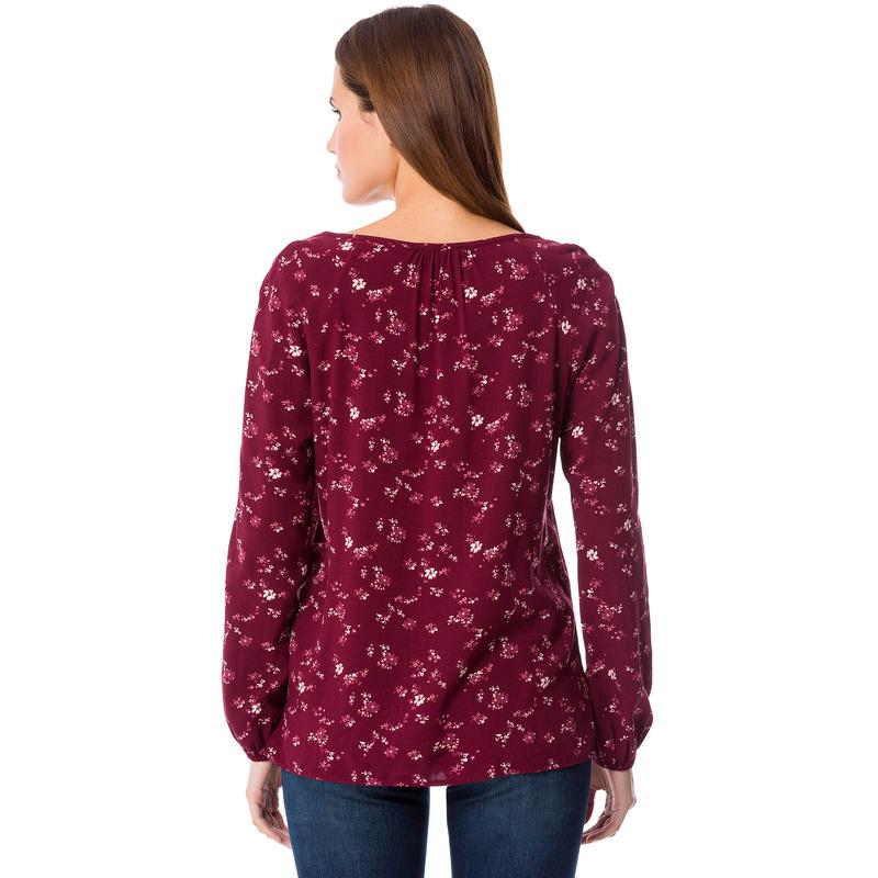 tunika bluse mit blumen print 8732. Black Bedroom Furniture Sets. Home Design Ideas