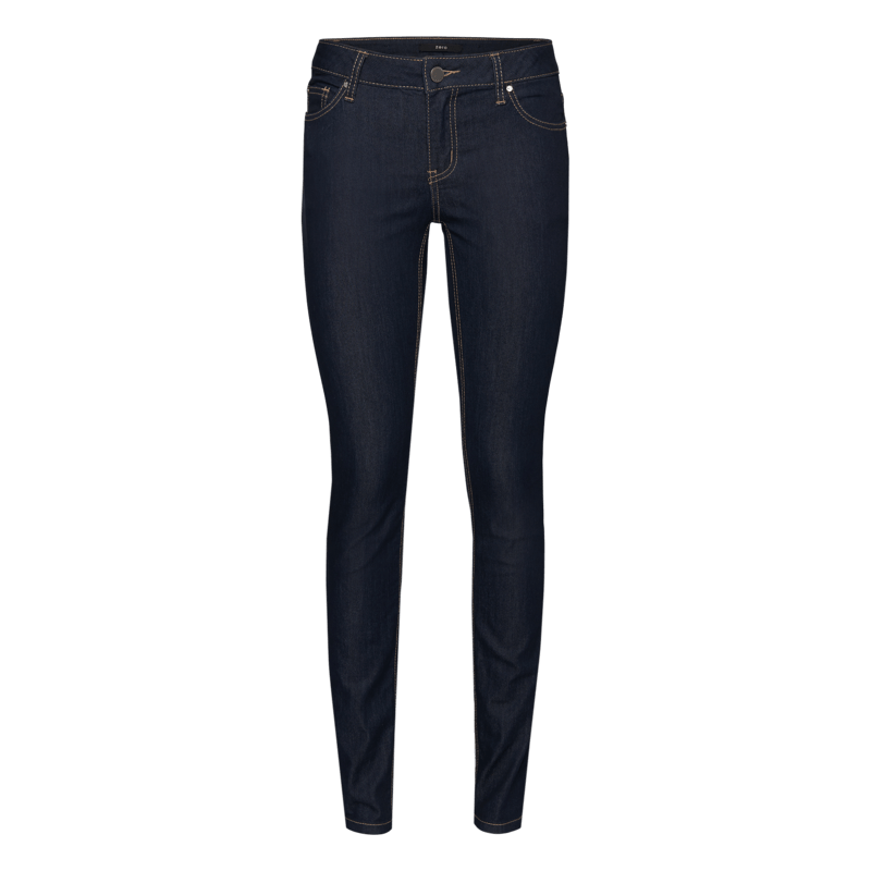 Skinny Fit-Jeans Padua, 30 inch in dark blue rinsed washed