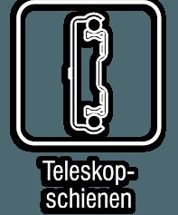 Teleskopschienen