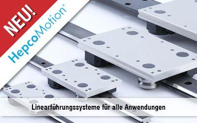 Linearführungssysteme von HepcoMotion