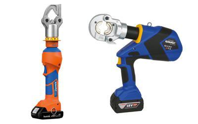 Akkuhydraulische Werkzeuge